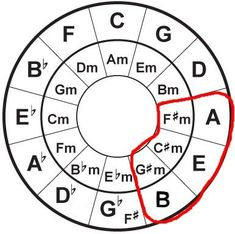 8 Useful Facts About the Circle of Fifths – Guitar Ideas Guitar Chords Beginner, Music Chords, Guitar For Beginners, Music Theory Guitar, Jazz Guitar, Basic Guitar Lessons, Music Lessons, Art Lessons, Gibson Les Paul