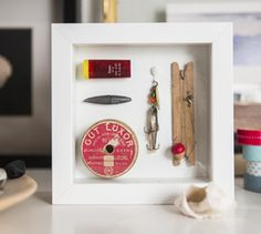 Create a display for family treasures with Sugru