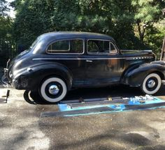 This 1940 Chevy Special Deluxe is a one-owner car that is said to be 99% original. Perhaps a little TLC and a new home are all it needs! #Chevrolet, #SpecialDeluxe