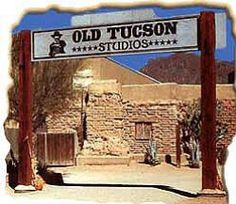 Old Tucson Studios Old Tucson Movie Studios is the second most popular western movie set, out side of Hollywood Just fifteen minutes from Tucson at the base of the Tucson Mountains lies a preserved slice of Americana, Old Tucson Studios.