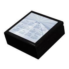 Memories of 2015 Keepsake Box Calendar by Janz Gift Box