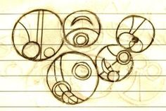 Catherine Bettenbender's Guide to Writing in Gallifreyan - This one says Sonic Screwdriver =)