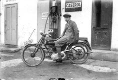 Der Photograph Arthur Fenzlau auf einer Zenith 1931 Quelle: technischesmuseum.at Sammlung Arthur Fenzlau