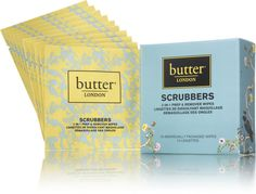 Butter London Scrubbers 2 In 1 Remover & Nail Prep Pads