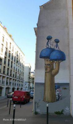 by Aleksey Kislow (Ukraine + Seth (FRance) - In Paris 13, rue des Cordelières, 2013.