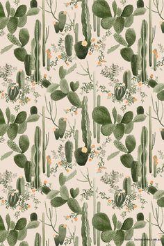Cacti pattern.