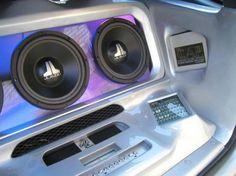98 ML mercedes Car Audio Install
