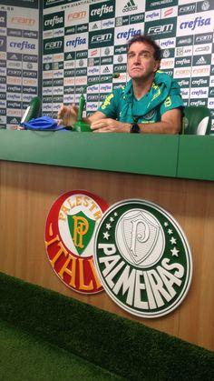 """Líder do Brasileirão, Cuca explica """"profecia"""" na Vila sobre título em 2016 #globoesporte"""