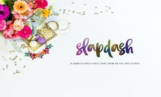 The Big Font Bundle (Slapdash Font) by TheHungryJPEG | TheHungryJPEG.com