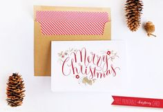 Free Printable Christmas Cards To Print and Send This Holiday Season