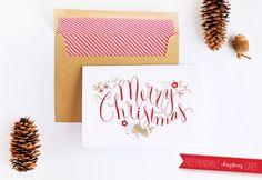 Free Printable Christmas Cards To Print and Send This Holiday Season