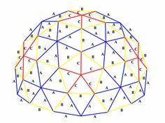 3v 5/8 Geodesic Dome Diagram