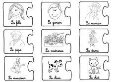 La maternelle de Laurène: Jeu pour apprendre à construire une phrase MS ET GS