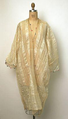 Undershirt, silk, late 19th century, Turkish.
