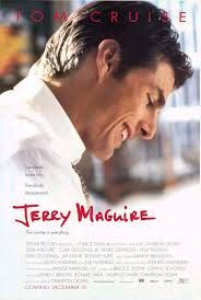 Jerry Maguire. Director C. Crowe. Quan dubtes entre la plorera i la fúria.