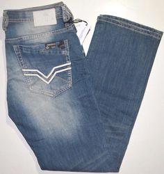 Buffalo David Bitton Driven-X stretch men's sanded denim jeans NEW on sale  #BuffaloDavidBitton #StraightLeg