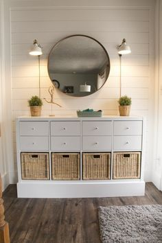 The Perfect Storage and Organizational Kallax IKEA Hacks - The Cottage Market - - IKEA Hack Storage is what it is all about here today! We have The Perfect Storage and Organization Kallax IKEA Hacks out there! Ikea Hacks, Ikea Hack Storage, Diy Hacks, Cube Storage, Ikea Shelf Hack, Ikea Storage Cabinets, Tv Cabinets, Diy Ikea Kallax, Ikea Kallax Regal