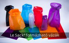 Hőre formázható vázák – bárhová magunkkal vihetjük, nem törik!   Életszépítők