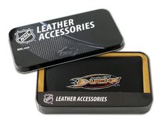 NHL Anaheim Mighty Ducks Embroidered Checkbook by Rico. $25.99. You can pay the bills while showing passion for your favorite team with this NHL® team checkbook cover from RICO Industries. It's officially licensed and adorned with the team-colored logo embroidered on the front.