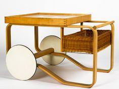 Aalto tea trolley by Artek