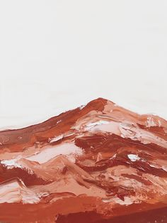 when the soil sings its song of smooth sandy sweetness.  #oiloncanvas #painting #abstract  #rust #terracotta Painting Abstract, Design Thinking, Terracotta, Rust, Oil On Canvas, Deserts, Smooth, Terra Cotta, Desserts