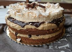 Mont Blanc torta | Mai Móni