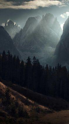 Reisen - Welt - Planet - Meer - Wald - See - Berg - EIif - Nature travel Landscape Wallpaper, Nature Wallpaper, Forest Wallpaper, Mountain Wallpaper, Apple Wallpaper, Landscape Photography, Nature Photography, Photography Jobs, Photography Lighting