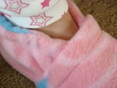 Cool Fleece Slipper sewing Tutorial