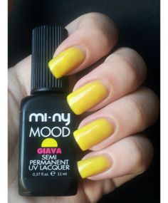 This extraordinary semi-permanent polish unites the long-lasting features of gel with the ease of applying polish. Glossy, bright and impeccable nails for more than two weeks. Hardens in 2 minutes under a UV lamp or in seconds under a LED lamp. Comes off easily without ruining nails!  You won't be able to do without it!! www.minyshop.com
