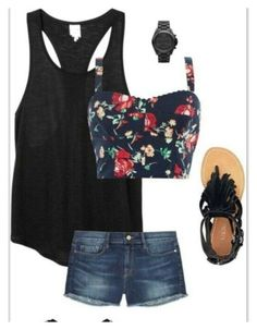 """Cute summer fashion idea"" by sparkobubi ❤ liked on Polyvore"
