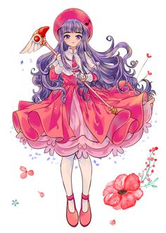 If tomoyo where the card captor! :3