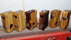 varie essenze di legno potete vedere tutte le box su facebook alla pagina NEGUS MOD CREAZIONI BOX