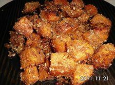 Fancy Oven Roasted Sweet Potatoes I used gluten free breadcrumbs