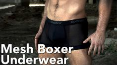 Cocksox® CX13 Mesh Boxer Underwear by Cocksox. These beauties have been retired but we've got plenty more great gear for you here! www.cocksox.com/products/viewall