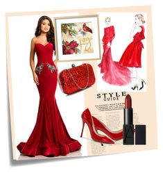 """Red Love"" by lillylana on Polyvore featuring Post-It and Johnathan Kayne"