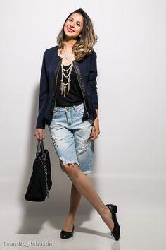 Bermuda jeans