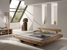 Balkenbett Blumenstein - modern wood bed designs