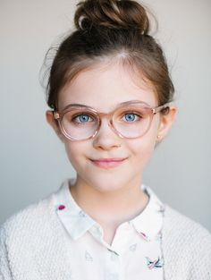 6aa829451a7 Limited Edition Kids Glasses    The Paige Grapefruit