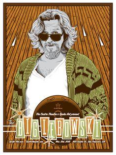The Big Lebowski The Big Lebowski, Big Lebowski Poster, O Grande Lebowski, El Gran Lebowski, Star Trek, Spoke Art, Alternative Movie Posters, Poster, Movies