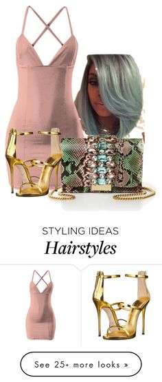 """""""Day Party"""" by perichaze on Polyvore featuring GEDEBE and Giuseppe Zanotti"""