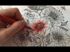 Flower Coloring Tutorial 2