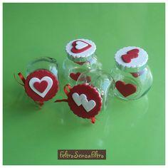 Valentine's day gift idea #SanValentino #Hearts #Cuori #Jar #Vasetti