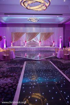 reception background