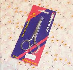 "Janome 4"" fine point embroidery scissors #craft #crafting #ideas #crafty  #inspiration #yarn #scissors  #creative www.ninefruitspie.co.uk"