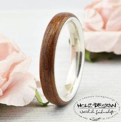 Kirsch Bentwood Holz mit Stein Ringe Eheringe von
