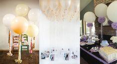 10 originales ideas de decoración con globos para bautizo