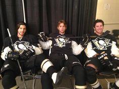 kris letang, brandon sutter + james neal   pittsburgh penguins hockey #nhl