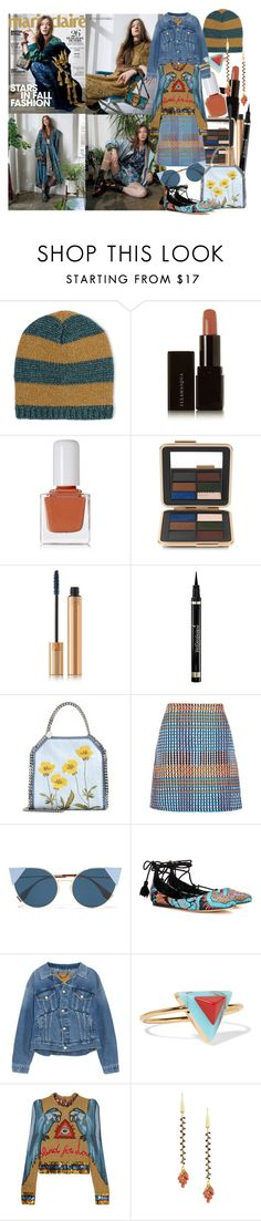 """""""How you love yourself is how you teach others to love you"""" by brownish ❤ liked on Polyvore featuring Gucci, Illamasqua, tenoverten, Estée Lauder, Yves Saint Laurent, STELLA McCARTNEY, Topshop, Fendi, Etro and Balenciaga"""