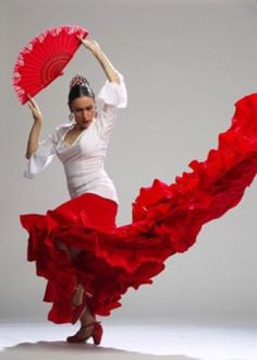 """Old ladies, flamenco dancers,...."""