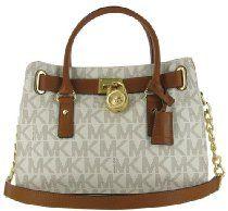 Michael Kors EW Satchel Women's MK Logo Handbag Tote Purse From Michael Kors - Bags or Shoes Shop